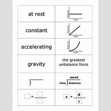 Flash Cards For Motion Graphs By Jodi's Jewels Tpt