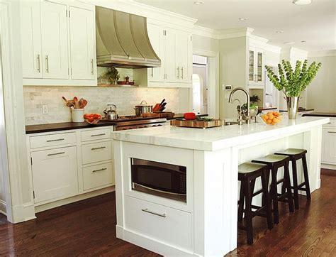 kitchen island microwave microwave in island kitchen