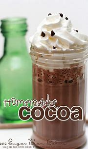 Sugar Bean Bakers: { Cocoa for Ron and You! }   Homemade ...