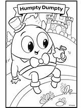 Humpty Dumpty sketch template