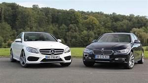 Bmw Ou Mercedes : comparatif vid o mercedes classe c vs bmw s rie 3 les blockbusters ~ Medecine-chirurgie-esthetiques.com Avis de Voitures