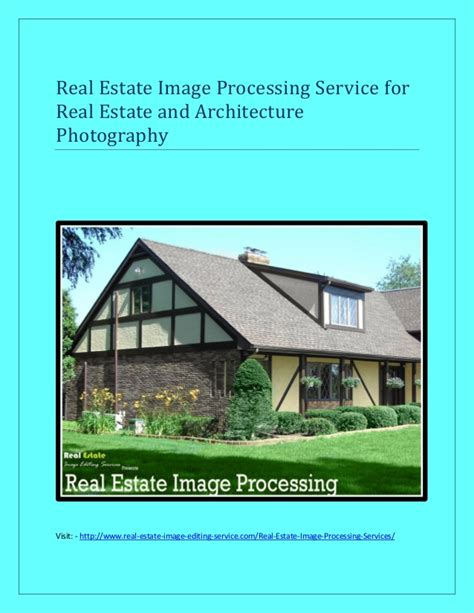Real Estate Image Editing Services For Real Estate And