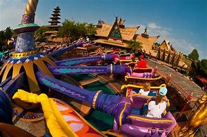 The Magic Carpets of Aladdin ride, Adventureland, Magic ...