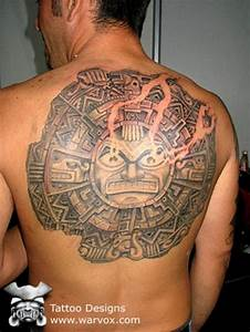 Mayan Sun Tattoo – Tattoo Picture at CheckoutMyInk.com