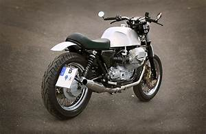Moto Custom A2 : caf racer 76 moto guzzi custom by urban motor ~ Medecine-chirurgie-esthetiques.com Avis de Voitures