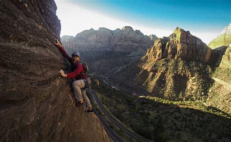 Rock Climb Ashtar Command Zion National Park