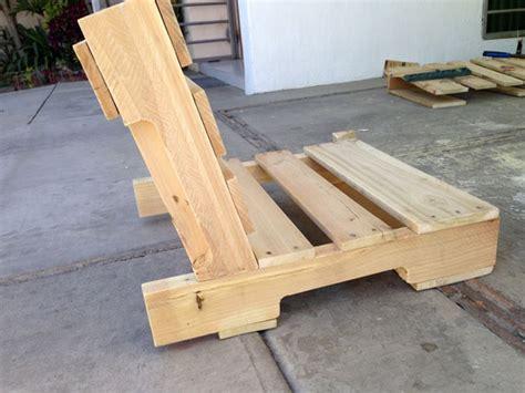 fabriquer une chaise avec des palettes conseils et