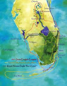 Historical Everglades Map Florida
