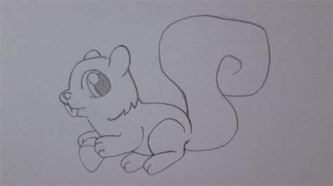 Imagenes De Ardillas Animadas Faciles Para Dibujar