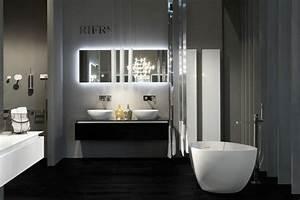 ou trouver le meilleur miroir de salle de bain avec With carrelage adhesif salle de bain avec eclairage escalier exterieur led