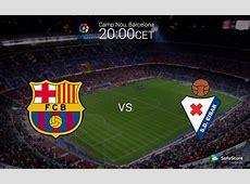 Primera Liga BBVA 8th round FC Barcelona vs SD Eibar