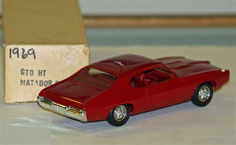 Model Cars by 1969 Pontiac Gto Hardtop Promo Model Car Model Cars