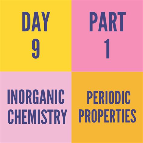 day  part  periodic properties