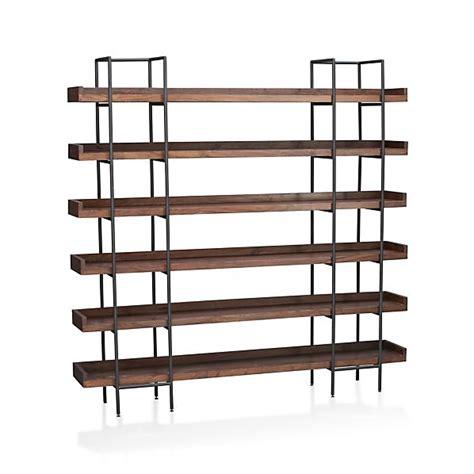 diy project   build  freestanding industrial shelf
