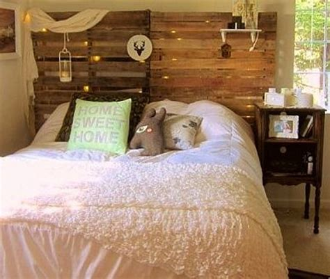 creative pallet headboard ideas wood pallet ideas