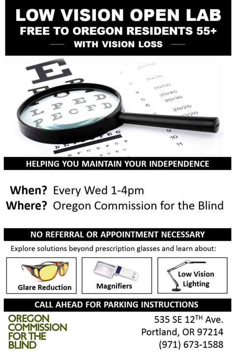 commission for the blind oregon commission for the blind vocational rehabilitation