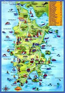 Maps Update #8361184: Tourist Attractions Map In Thailand ...