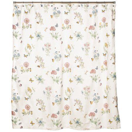 butterfly shower curtain lenox butterfly meadow shower curtain walmart