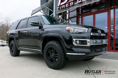 toyota runner   black rhino mojave wheels