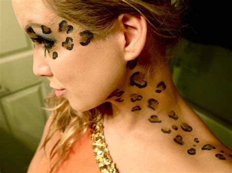 leopard make up the longly anticipated cheetah leopard makeup tutorial makeup leopard makeup