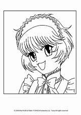 Coloring Pudding Hellokids Mew Fong Tokyo Portrait Sheets Manga Anime sketch template