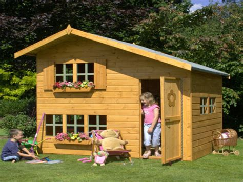 wood play house outdoor wooden playhouses floor plans