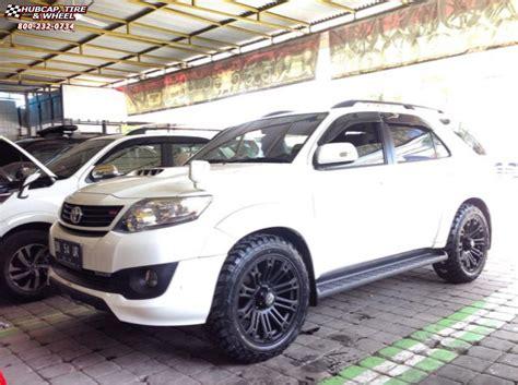 toyota fortuner xd series xd brigade wheels black