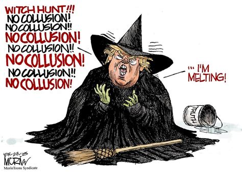 witch trump hunt witches hate talk funny due even social
