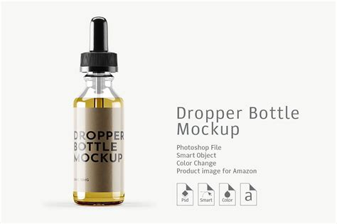 Super easy to use, perfectly serviceable with accessibility to change the color of any particular part to fit with. Dropper Bottle Mockup 4 #items#Cap#Easy#Change | Bottle ...