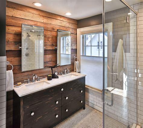 heights rustic bathroom other by vault interiors design llc