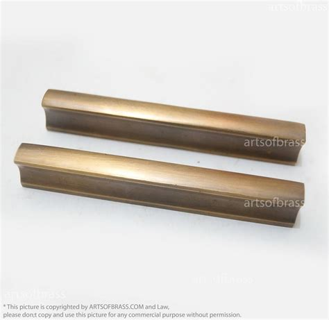 brass handles for kitchen cabinets 3 46 quot 2 pcs vintage retro solid bar handle brass cabinet 7951
