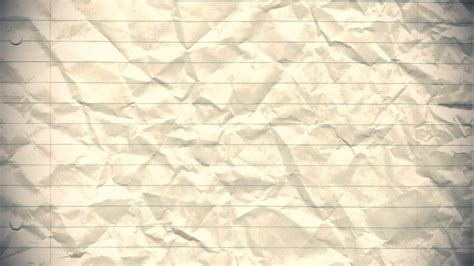 Paper Backgrounds Paper Background Stop Motion Animation Crumpled Lined