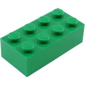 Green LEGO Brick