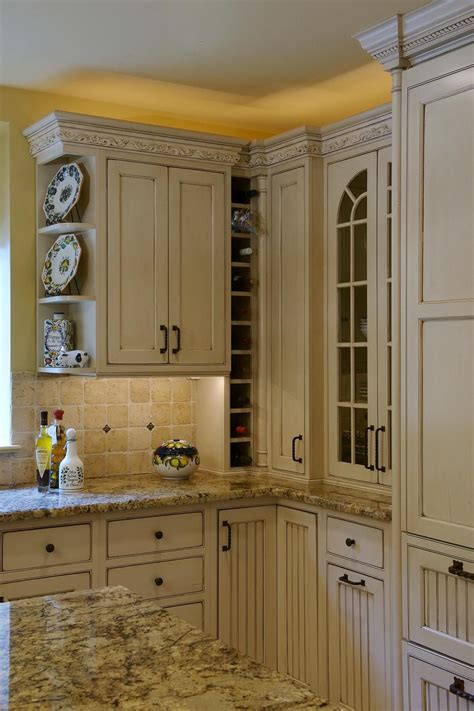 Kitchen Cabinet Yellow by Stunning Cabinets Paired With Granite Countertops