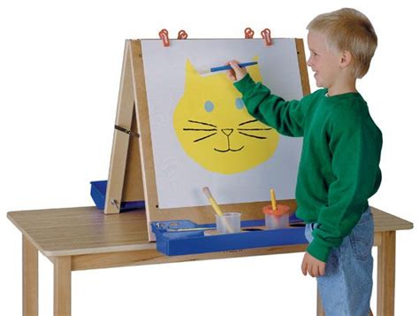 tabletop easel  children woodworking projects plans