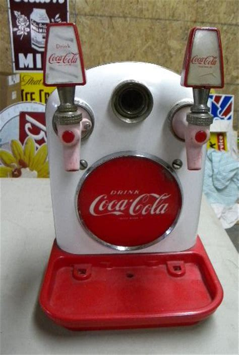 How to make coca cola soda dispenser at home out of cardboard with ryan toysreview! Photo :: $OLD Coca Cola Fountain Dispenser