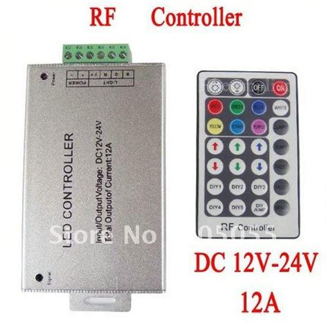 12v 24v 28 rf controller for rgb 5050 smd led light