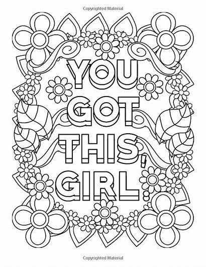 Coloring Pages Inspirational Quote Got Books Notebook