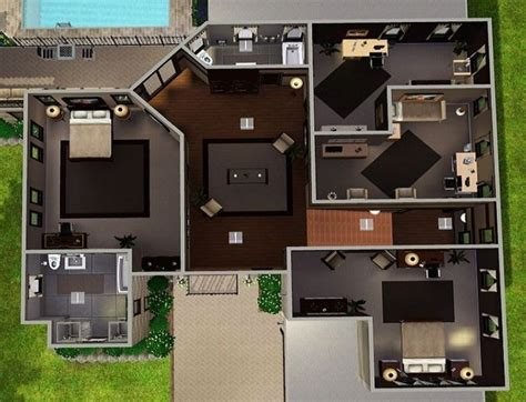 great modern family house plans nice design multi duplex