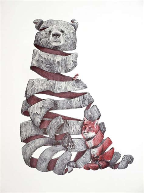 animal drawings  jaume montserrat