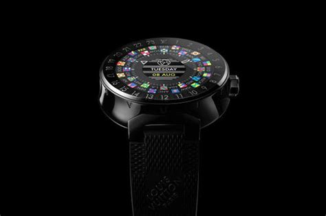 louis vuitton launches   smartwatch  tambour