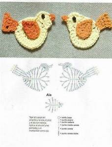 Crochet Birds Motifs Free Applique  U22c6 Crochet Kingdom