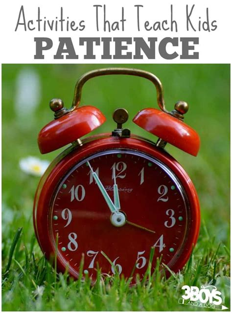 10 activities teaching children patience 3 boys and a 563   Simple Activities That Teach Kids Patience