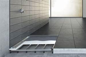 Dusche Bodengleich Fliesen : dusche einfach tiefergelegt bodengleiche duschen einbauen ~ Markanthonyermac.com Haus und Dekorationen