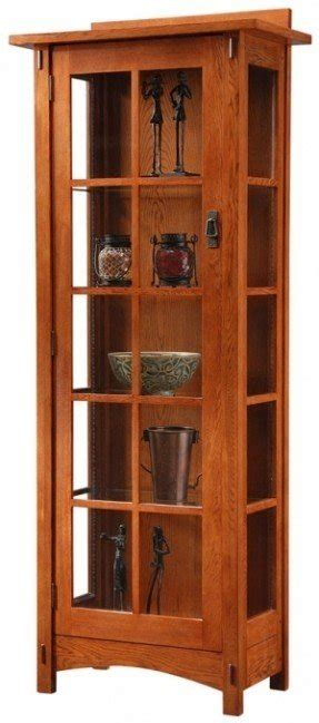 mission curio cabinets ideas  foter