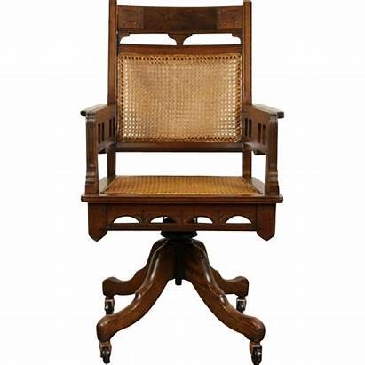 Victorian Desk Furniture Eastlake Chair Antique Swivel