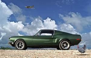 Supercars Gallery: Ford Mustang Gt 390 Fastback Bullitt 1968