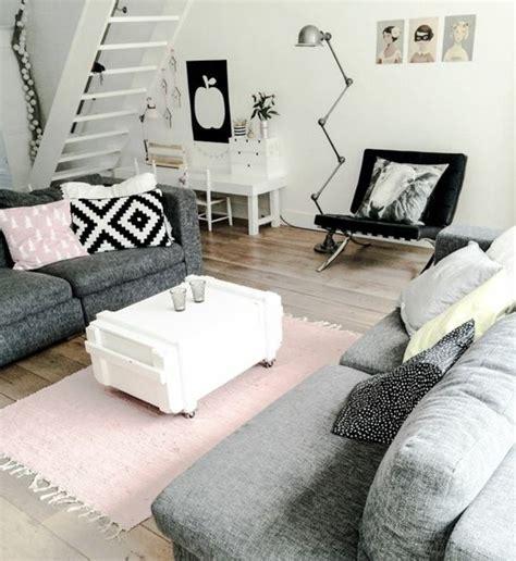 peinture cuir canapé déco salon gris 88 idées pleines de charme