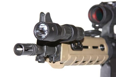 ar15 weapon light smc 1 quot light mount n slot