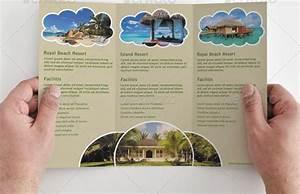 tri fold brochure template travel agency | Simple Tri-fold ...